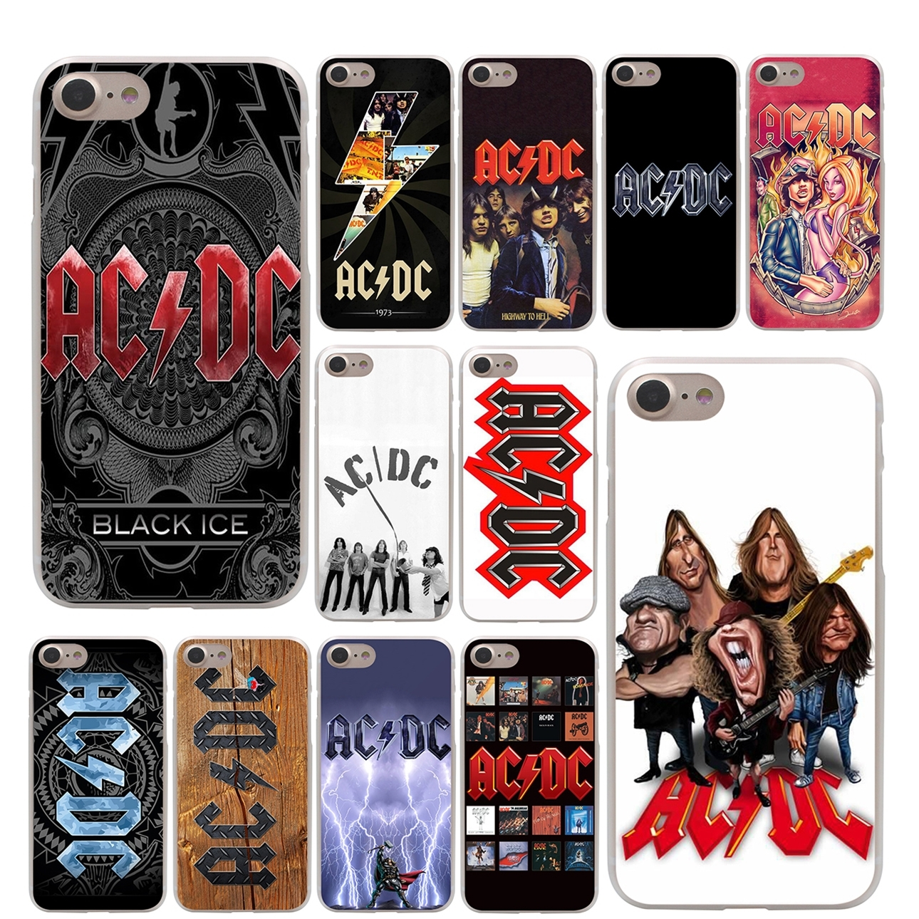 acdc phone case iphone 7