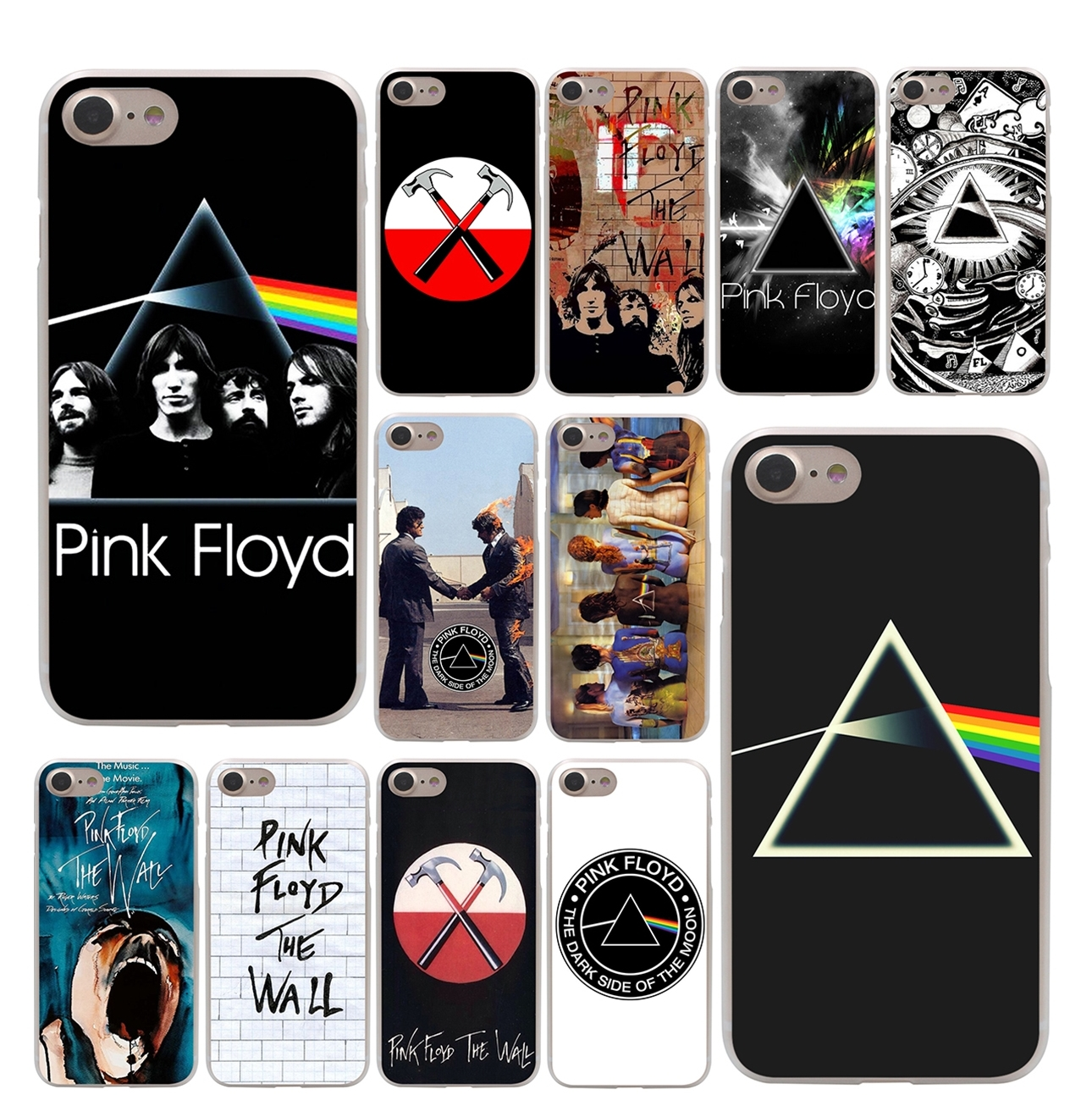 online store c3f0b 88333 Lavaza pink floyd the wall Hard Phone Cover Case for Apple iPhone 10 X 8 7  6 6s Plus 5 5S SE 5C 4 4S Coque Shell
